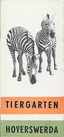 Tiergarten Hoyerswerda Faltplan (Zebras)