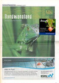 Leipziger Volkszeitung Gondwanaland, Verlagsbeilage 30. Juni 2011