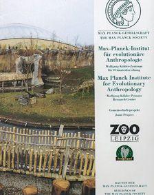 Max Planck Institut f. evolut. Anthropologie und Zoo Leipzig Bauten der Max-Planck-Gesellschaft im Pongoland des Zoo Leipzig