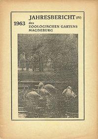 Zoo Magdeburg Jahresbericht (4) 1963