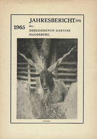 Zoo Magdeburg Jahresbericht (6) 1965