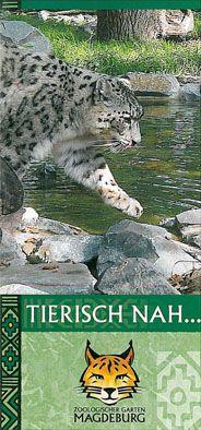 Zoo Magdeburg Faltplan (Schneeleopard)
