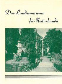 Museum für Naturkunde Das Landesmuseum für Naturkunde