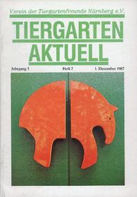 Tiergarten Nürnberg Tiergarten Aktuell Jg 3 / H 2