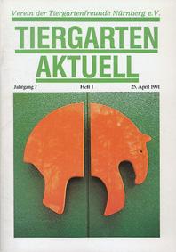 Tiergarten Nürnberg Tiergarten Aktuell Jg 7 / H 1