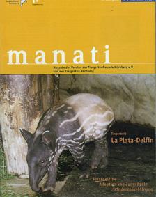 Tiergarten Nürnberg Manati- Zeitschrift des Vereins der Tiergartenfreunde Nürnberg e. V. und des Tiergartens der Stadt Nürnberg, Heft 2, November 2002