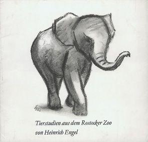 Zoo Rostock Tierstudien aus dem Rostocker Zoo von Heinrich Engel