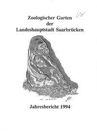 Zoo Saarbrücken Jahresbericht 1994