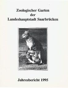 Zoo Saarbrücken Jahresbericht 1995