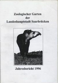 Zoo Saarbrücken Jahresbericht 1996