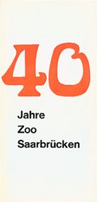 Zoo Saarbrücken 40 Jahre Zoo Saarbrücken