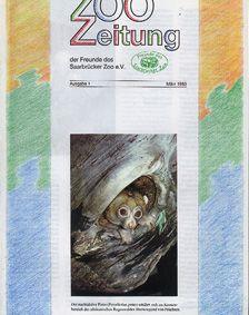 Zoo Saarbrücken Zeitung der Freunde des Zoos, Ausg. 1, März 93