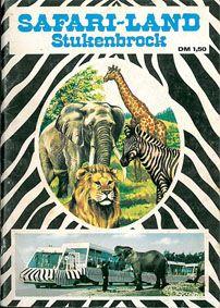 Safari-Land, Stukenbrock Führer durch das Großwild-Safari-Land (Tierzeichnung + Foto Bahn)