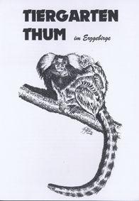 Tiergarten Thum Parkführer, 1. Auflage