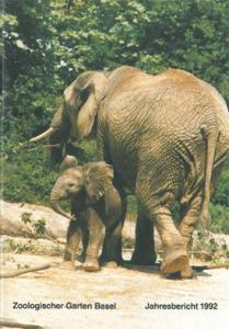 Zoo Basel Jahresbericht 1992