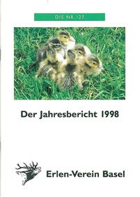 TP Lange Erle, Basel Erlen-Verein Basel, Jahresbericht 1998