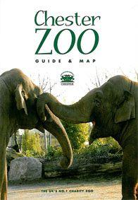Chester Zoo Guide & Map (Elefanten)