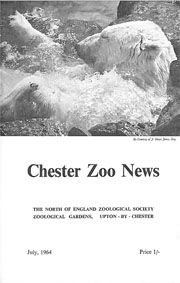 Chester Zoo News and Guide, July 1964