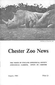 Chester Zoo News and Guide, August 1964