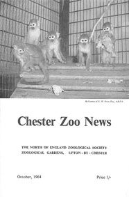 Chester Zoo News and Guide, October 1964