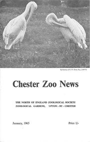Chester Zoo News and Guide, January 1965