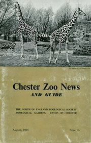 Chester Zoo News and Guide, August 1965