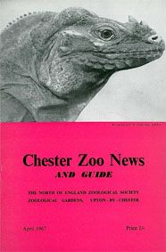 Chester Zoo News and Guide, April 1967