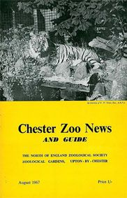 Chester Zoo News and Guide, August 1967