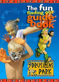 Drusilla Zoo Park The fun finding out guide book