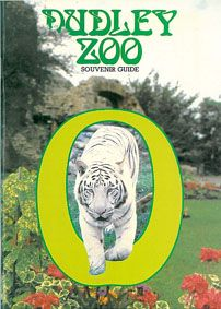 Dudley Zoo Souvenir Guide (Tiger in grünem Kreis)