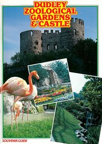 Dudley Zoo Souvenir Guide (Schloss, Flamingos)