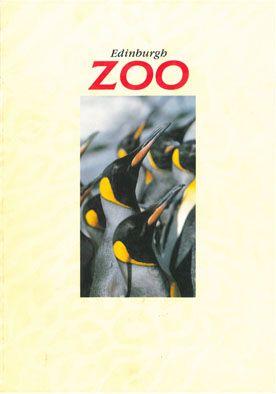 Edinburgh Zoo Guide (Pinguine) (Umschlag innen vorne: Auchen Castle Hotel)