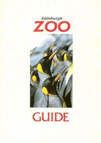 Edinburgh Zoo Guide (Pinguine) (Umschlag innen vorne: Kodak)