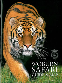 Woburn Wild Animal Kingdom and Leisure Park Safari Guide & Map (Tiger)