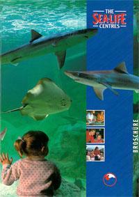 Sea Life Scheveningen The Sea-Life-Centres. Broschüre.