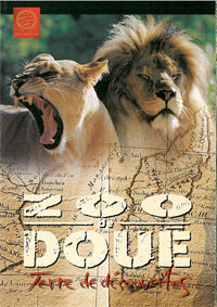 "Zoo de Doue-la-Fontaine Kurzinformation ""Terre de decouvertes"" (Löwen)"