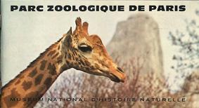 Museum National d'Histoire Naturelle Parc Zoologique de Paris, Zooführer (Giraffe)