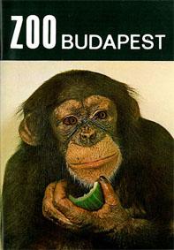 Zoo Budapest, Ungarn Parkführer (Schimpanse)