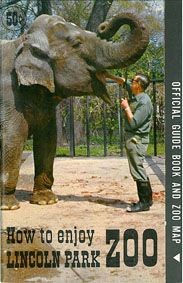 Lincoln Park Zoological Society How to enjoy Lincoln park. Official guide book with map (Elephant)
