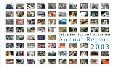 Columbus Zoo and Aquarium Annual Report 2003