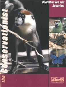 Columbus Zoo the Conservationist, Volume 7, Issue 1-2002