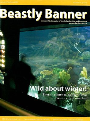 Columbus Zoo Beastly Banner Volume 15 Issue 1