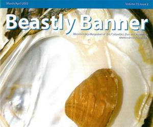 Columbus Zoo Beastly Banner Volume 15 Issue 2