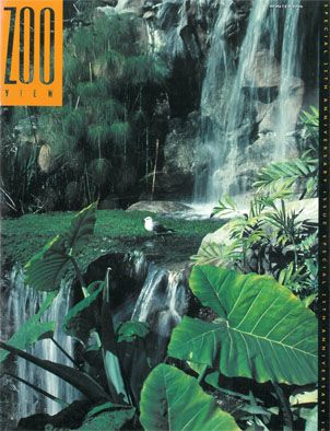 Los Angeles Zoo ZOO VIEW Magazine, Winter 1990 (25th anniversary issue)