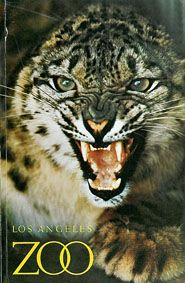 Los Angeles Zoo Guide Book (Schneeleopard)