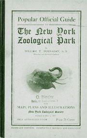 New York Zoological Park Popular Official Guide (Elefant)