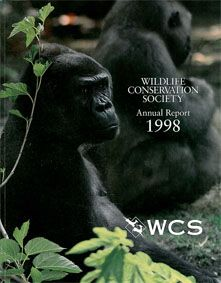 Wildlife Conservation Society Annual Report 1998