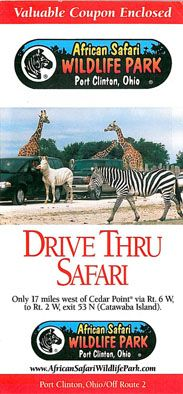 African Safari Wildlife Park Faltblatt (Drive thru Safari)
