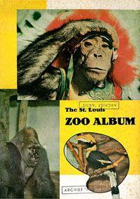 Saint Louis Zoological Park The St. Louis Zoo Album (Hornbill, Gorilla, verkleideter Schimpanse)
