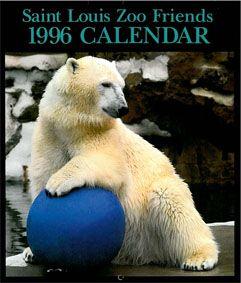 Saint Louis Zoological Park Saint Louis Zoo Friends. Calendar 1996.